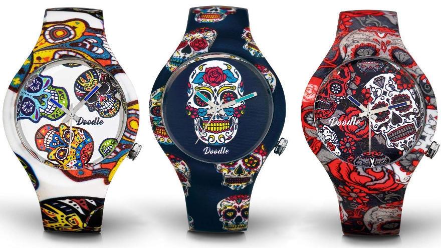 relojes de calaveras mexicanas