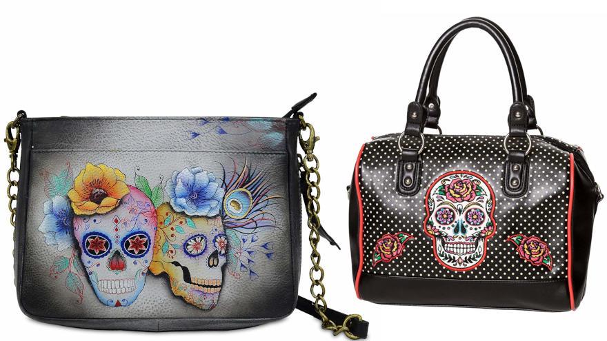 bolsos calaveras mexicanas