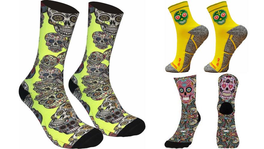 calcetines calaveras mexicanas
