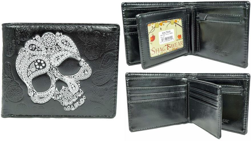 billeteras de calaveras