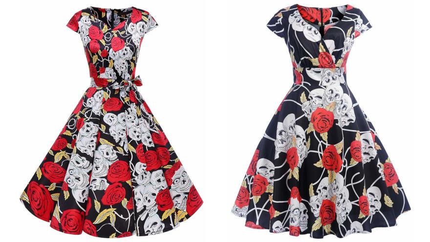 Vestidos Con Calaveras Catálogo 2019 Tienda De Calaveras